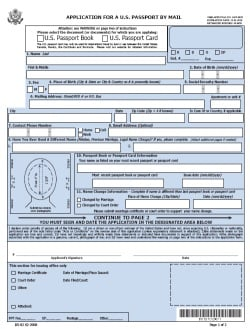 DS-82 Online Application Form for Passport Renewal | Passports and ...
